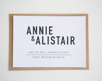 """SAVE THE DATE wedding / engagement invitations 