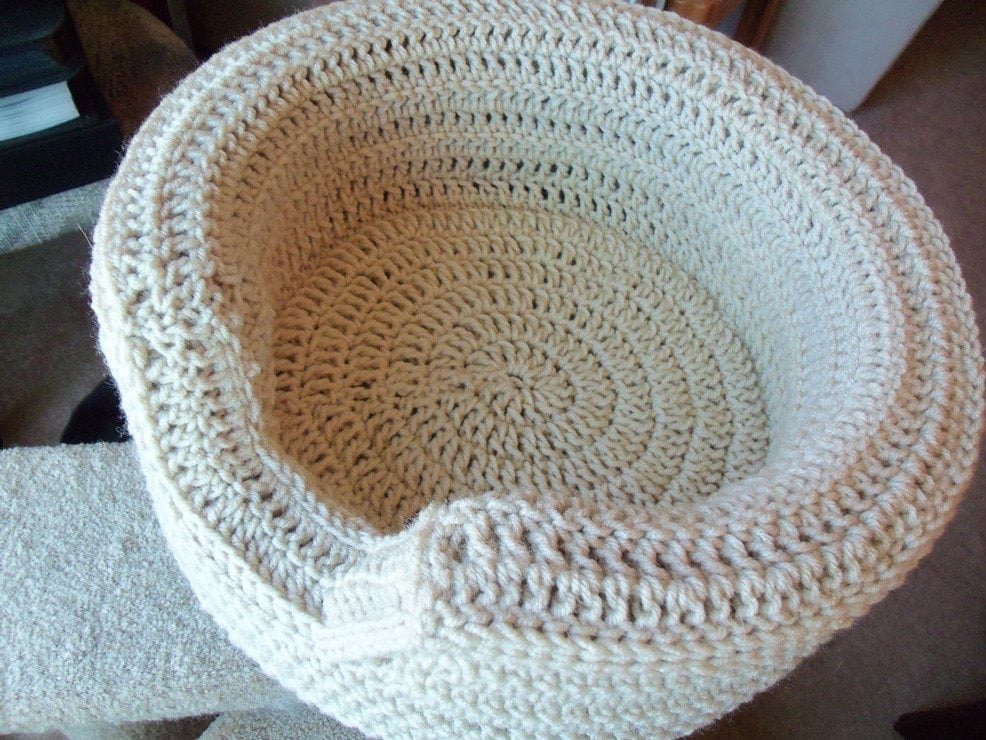 Crochet Cat Bed Free Pattern Images Knitting Patterns Free Download