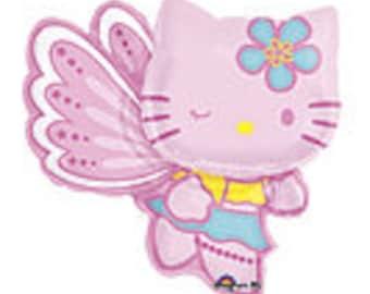 "30"" Hello Kitty foil balloon party decoration fairy"
