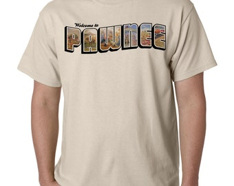"The ""Welcome to Pawnee"" T-Shirt, inspired by Parks and Recreation"