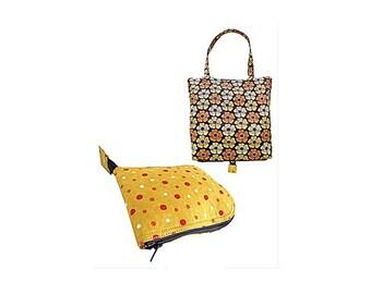 Zip-Away Shopping Bag
