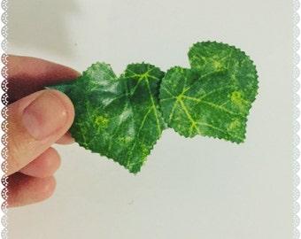Poison Ivy Leaf Barrette Clip