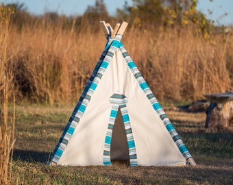Kid's Teepee Play Tent No. 0308