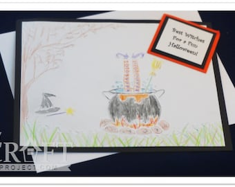 Witch's Brew Embossing Folder by My Craft Project