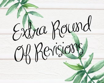 Extra Round Of Revisions
