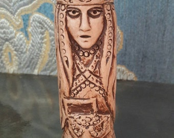 Small Handcrafted Figurine of Fulla