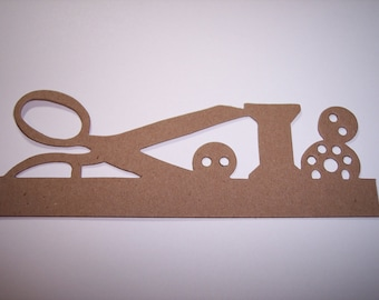 Border Die Cut Sewing set of 4
