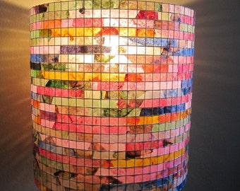 Shipping Worldwide - Lighting Chandelier Ceiling Light Pendant Hanging Drum Lampshade Lamp Hanging Pendant