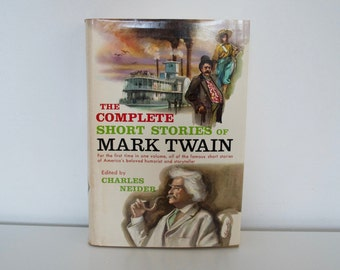 Vintage book - The Complete Short Stories of Mark Twain - 1957 First edition