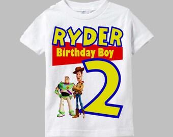 Toy Story Birthday Shirt - Woody and Buzz Shirt