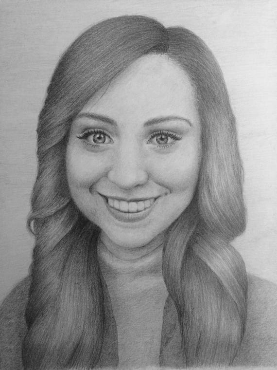 Custom Realistic Pencil Portrait