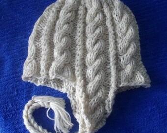 Knitting Pattern for Snowboarding Hat