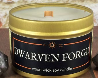 """DWARVEN FORGE Candle 