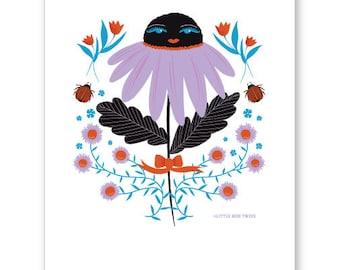 "Hiroka Giclee print 5"" x 7"" by Sheila Lutringer"