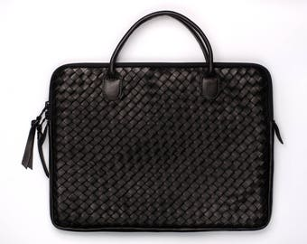 "Leather braid iStore - MacBook Pro 13 ""Retina case"