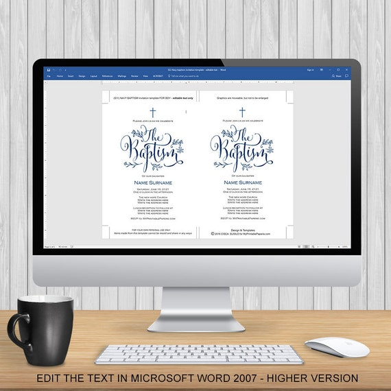 Charmant Einladungsvorlage Microsoft Word Zeitgenössisch ...