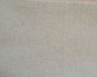 Fine canvas 50 x 140 cm, Linen and viscose Sweigart, cross stitch fabric