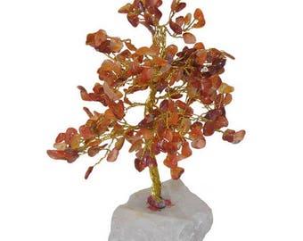 Tree of life 240 carnelian stones