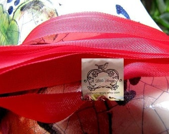 Rayon Seam Binding Ribbon Holiday Venetian Red