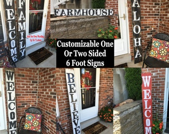 Personalized Wood Signs, Personalized Rustic Wood Signs, Personalized Rustic Signs, Reclaimed Wooden Signs, Welcome Wood Signs, Wooden Signs