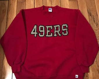 90s San Francisco 49ers Sweatshirt - XL