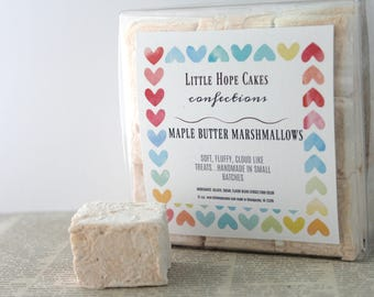 Maple and Butter Marshmallows
