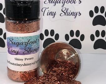 Glitter-Shiny Penny (polyester glitter, plastic glitter, glitter, embellishments, crafts, scrapbooking, tumblers, nail art)