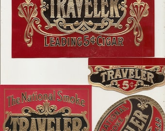 13 Old CIGAR  LABELS