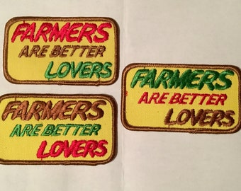 Farmers Are Better Lovers Risque Vintage Rare Retro L@@K