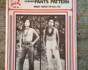 New Eagle's View Patterns Early Frontiersman's Leather Pants Pattern