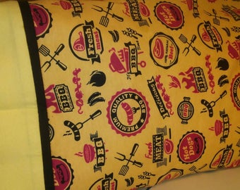 Are you a master griller?!  This is just for you!  Travel size pillowcase.