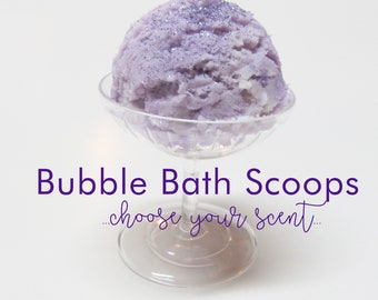 Bubble Bath | Bubble Scoops | Choose your scent | Bubble Bars | Long Lasting | Great in hard water! | Lots of scents | Flat rate shipping