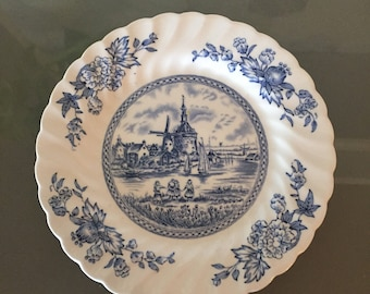 Set of 5 Johnson Bros Tulip Time Bread and Butter Plates