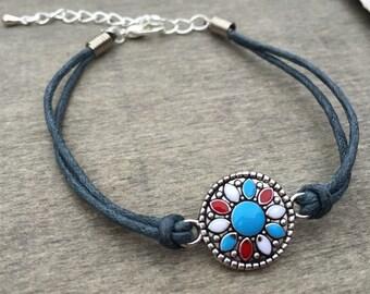 Boho Bracelet - hippie bracelet bohemian bracelet tribal bracelet delicate bracelet stacking bracelets hippie jewellery