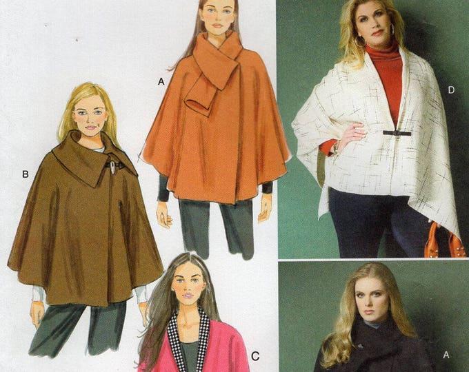 FREE US SHIP Butterick 5959 Cape Wrap 150th Anniversary Uncut Sewing Pattern Size  16/26 Bust  38 40 42 44 46 48 Plus (Last size left)