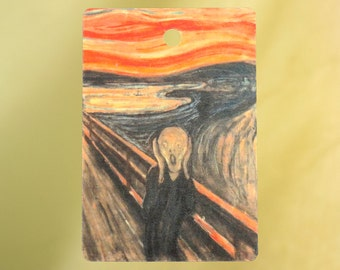 The Scream by Edvard Munch Air Freshener