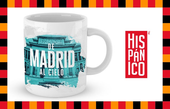 "Spanish Mug ""De Madrid al cielo"""