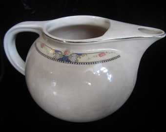 VINTAGE CREAMY PITCHER, Beautiful milk pitcher