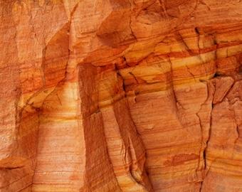 Sandstone Print, Utah Art, Utah Print, Desert Photography, Nature Photography, Abstract Art, Modern Print, Large Print, Old West, Southwest