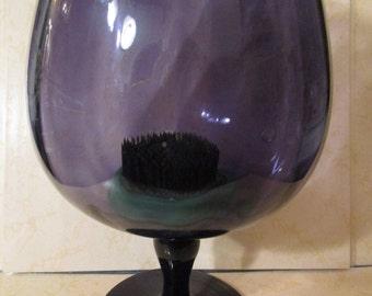 Vase /Brandy Snifter / Large/Flower Frog / Pedestal / Apothecary Type Jar /Home Decor /Centerpiece Bowl