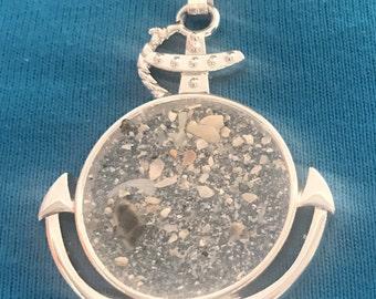 Beach Sand Anchor Pendant