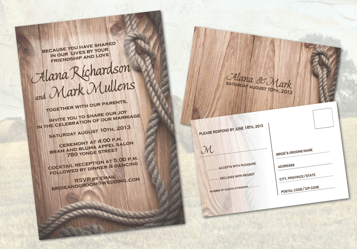 Country Western Ranch Wedding Invitations Western Rustic - Wedding invitation templates: western wedding invitations templates free