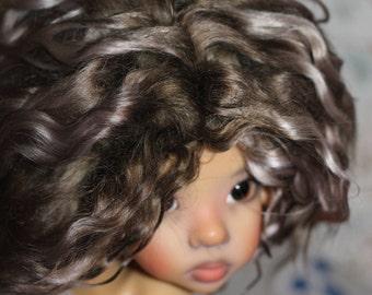 Availible doll wig Kaye Wiggs 7-8'', 8-9'' (21sm)
