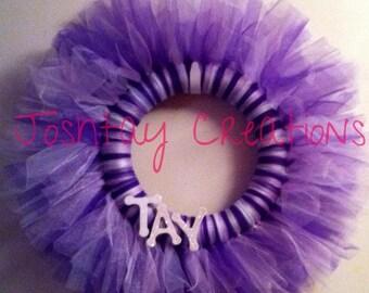 Custom-made Tutu Wreath