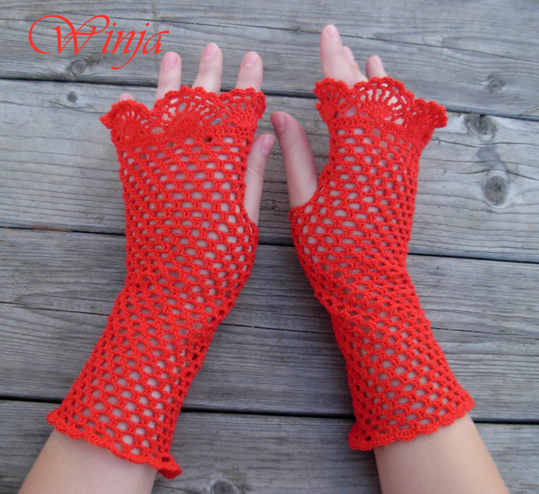 Fantastisch Fingerlose Handschuhe Frei Häkelmuster Fotos ...