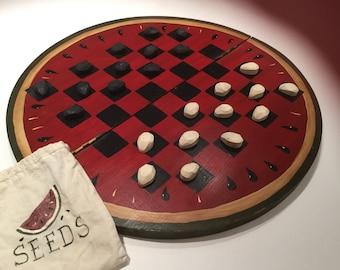Checker Board (Watermelon design)