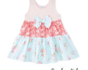 Beautiful Carolina Kids Shabby Chic Boutique Dress toddler girls