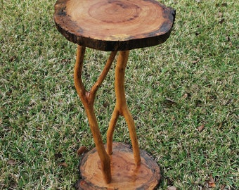 Table of Spalted Elm with Crepe Myrtle Legs