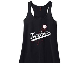Teacher Flowy Tank