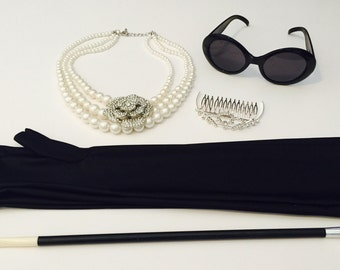 Teen & Adult Audrey Hepburn Accessory Set
